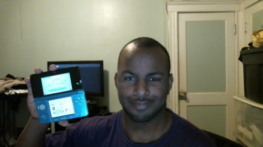 Me and my Repaired Nintendo 3DS