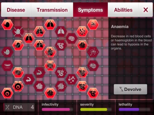 Image result for Plague Inc Symptoms tree